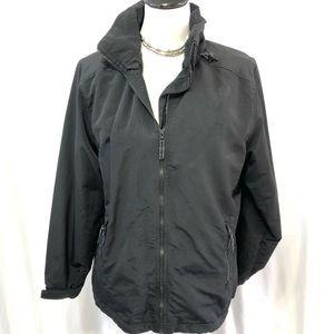 Lands End Fleece Lined Winter Jacket